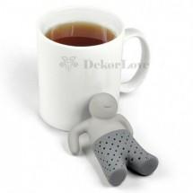 Teafilter tartó -emberke