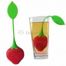 Teafilter tartó -eper