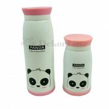 Állatfigurás termosz -panda
