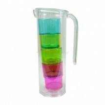 Praktikus kancsó 4 pohárral