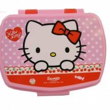 Hello Kitty mintás uzsonnásdoboz