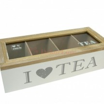 Teafilter tartó doboz