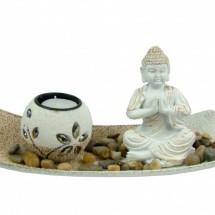 Mécsestartó - Buddha