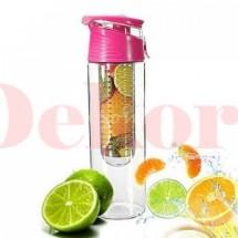 Gyümölcstárolós palack - rózsaszín