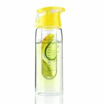 Gyümölcstárolós palack - citromsárga