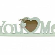 You <3 Me képkeret