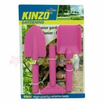 Gyerek kertész szett -rózsaszín
