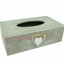 Zsebkendő tartó doboz