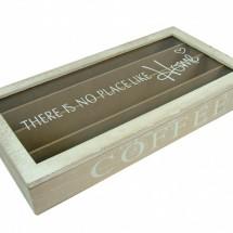 Kávékapszula tartó doboz