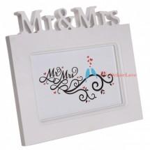 Mr & Mrs képkeret