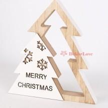 Karácsonyi asztali dekor