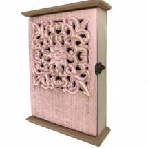 Kulcstartó szekrény rózsaszín